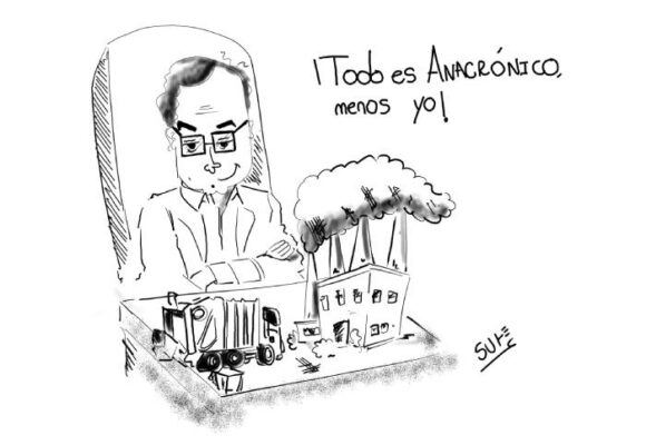 Caricatura: Anacrónico