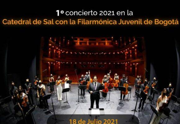 El concierto sinfónico que resonará en la Catedral de Sal de Zipaquirá