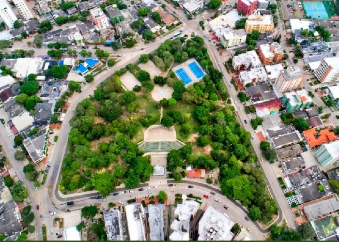 VIDEO: La insólita historia del Parque del Santo Cachón en Barranquilla