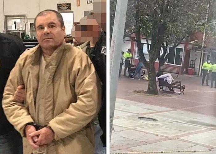 A plena luz de día, asesinan en Bogotá a narco colombiano que testificaría contra el Chapo Guzmán
