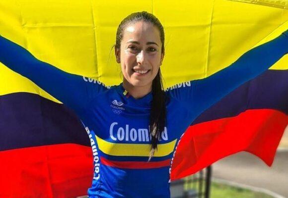 Mariana Pajón, sin egoísmo, celebra la medalla de su rival británica