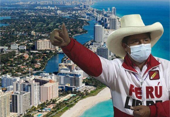 Éxodo de peruanos ricos a Miami