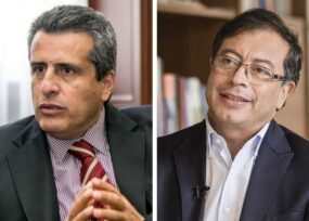 Luis Fernando Velasco toma distancia de César Gaviria y le coquetea a Petro