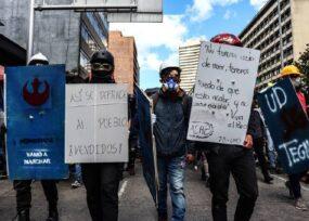 Primera Línea de Bogotá se lanza al ruedo como partido político