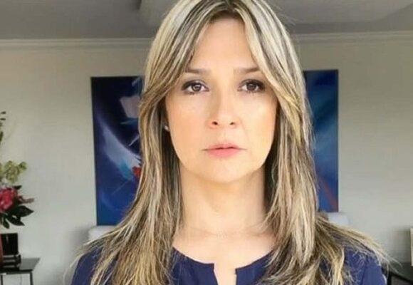 Le dan duro a Vicky Dávila por criticar a los que ponen la bandera al revés