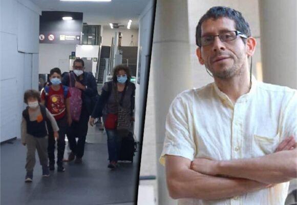 Después de estar 17 horas retenido, liberal al profesor Guzman en México