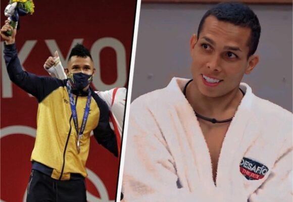 El participante del Desafío que es hermano del medallista de plata Luis Javier Mosquera