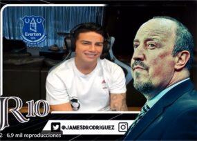 Rafa Benítez echó a James del Everton: esta es la prueba