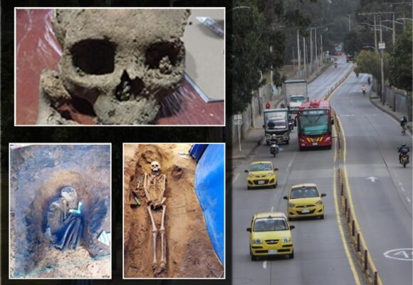 Las 26 tumbas muiscas que encontraron en la avenida Caracas de Bogotá
