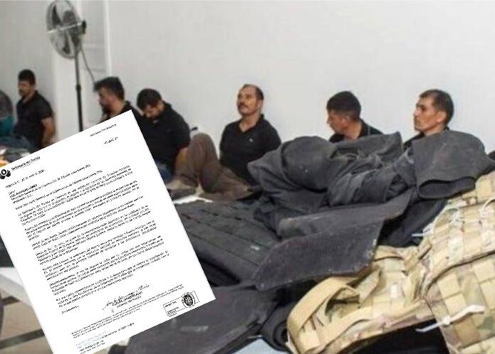 No dejan ver a mercenarios colombianos a Defensoria del Pueblo
