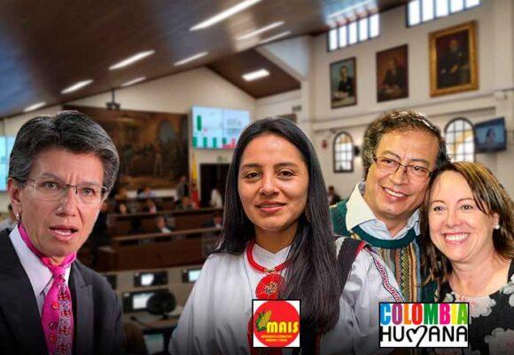 Se le volteó el concejo a Claudia López
