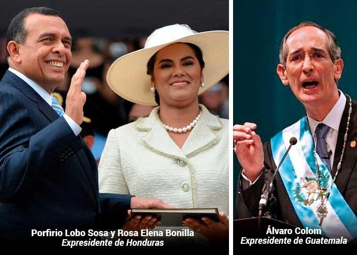 Expresidentes de Honduras, Guatemala y otros funcionarios en lista de corruptos hecha por EEUU