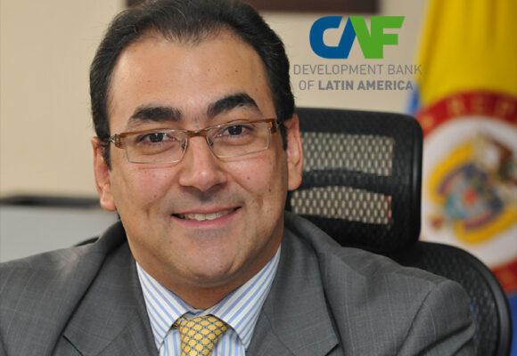 Sergio Diaz-Granados se las arregló para arrancar en la CAF sin tocar Venezuela