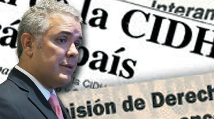 CIDH vs. Duque: Democracia vs. Fascismo