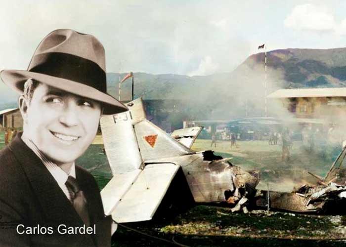La embarrada del piloto colombiano que acabó con la vida de Carlos Gardel