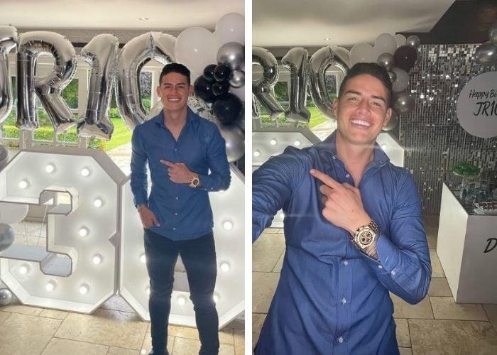 Sin amigos, sin Selección y sin novia: el cumpleaños más triste de James