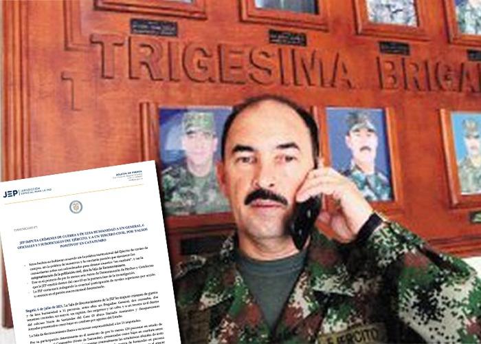 El general Coronado de la brigada del Catatumbo a responder en la JEP por falsos positivos