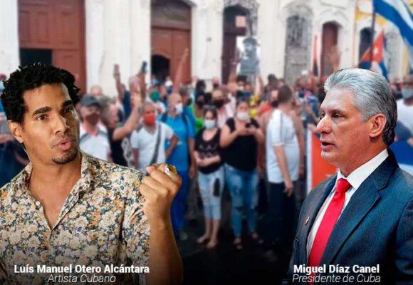 Luis Manuel Otero, el joven artista que le pone la cara a la protesta en Cuba