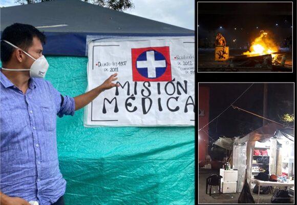 Así es la misión médica que atiende a los heridos de la primera línea en Cali