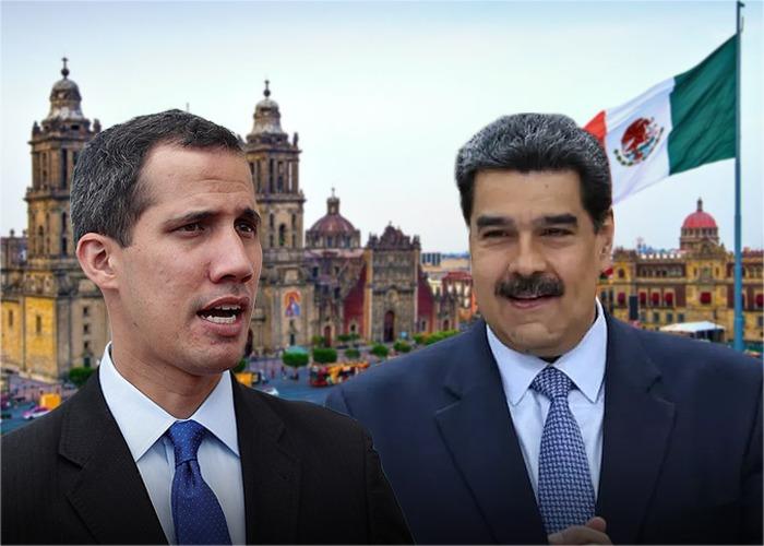 Maduro negociará en México con la oposición de Venezuela