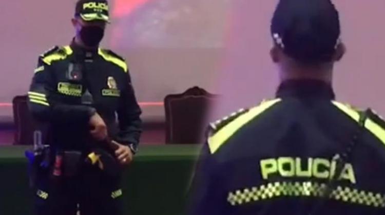 Aunque la policía se vista de europea, represora se queda