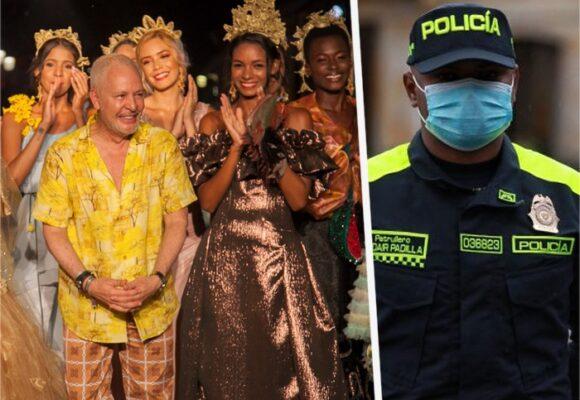 Hernán Zajar, famoso por sus trajes para reinas, el diseñador del nuevo uniforme de la policía
