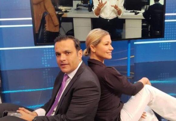FOTOS: Los momentos de relax de Juan Diego Alvira en las emisiones de Noticias Caracol