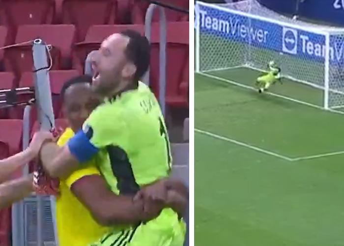 VIDEO: Las tapadotas de David Ospina que le dieron la semifinal a Colombia