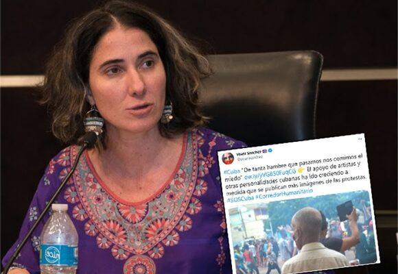 Yoani Sánchez, la tuitera cubana, que no se ha dejado callar por el presidente