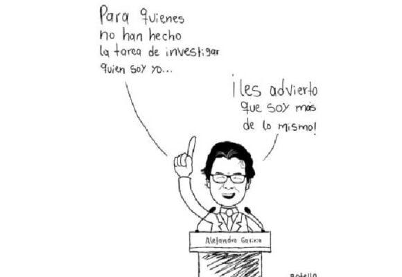 Caricatura: advertencia