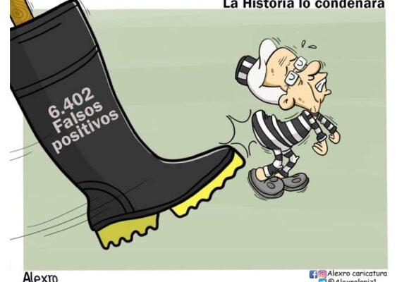 Caricatura: La historia lo condenará
