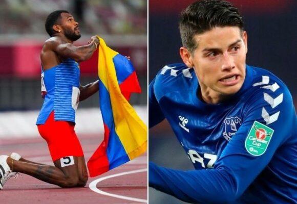 El ego de James le impide felicitar a los colombianos que consiguen medallas en los Juegos Olímpicos