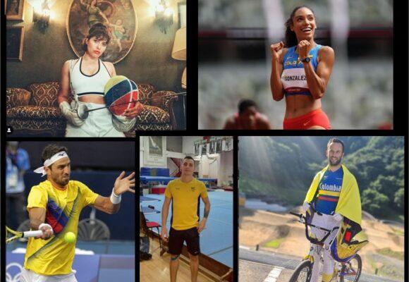 Los 5 atletas nacidos en el extranjero que representaron a Colombia en los Olímpicos