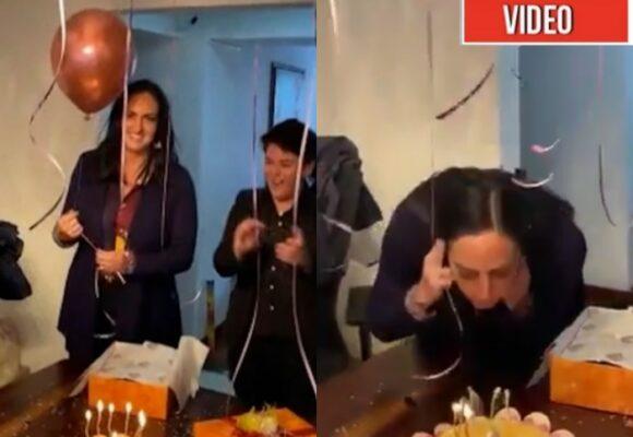 Ser presidenta, el deseo de cumpleaños de Mafe Cabal. VIDEO