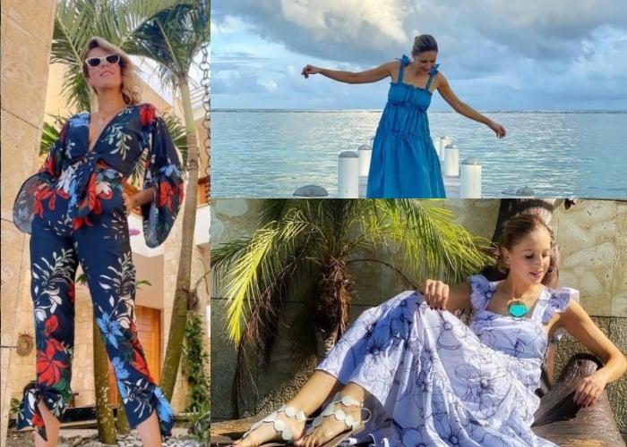 Las lujosas vacaciones de Alejandra Azcarate en Punta Cana