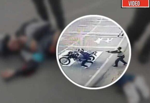 VIDEO: El momento en que ladrón es abatido en Bello, Antioquia