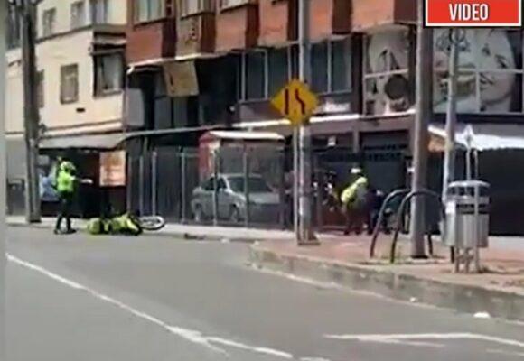 VIDEO: El momento en que asesinan a policía en una requisa