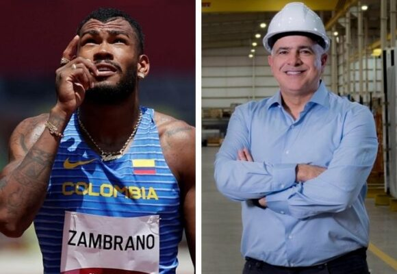 Zambrano resultó doblemente premiado por su medalla olímpica