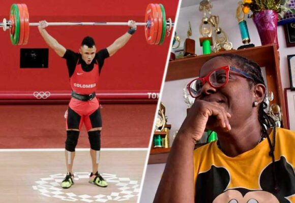 La vallecaucana detrás de la medalla olímpica del pesista Luis Javier Mosquera