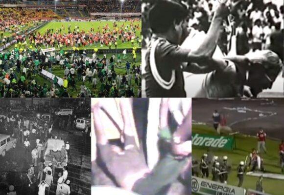 Las 5 peores tragedias en estadios colombianos