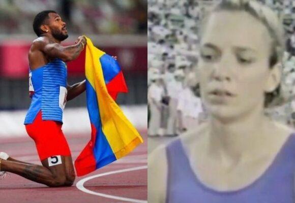 Zambrano y Restrepo, los únicos atletas de sudamérica en montarse al podio de los 400m planos en Olímpicos