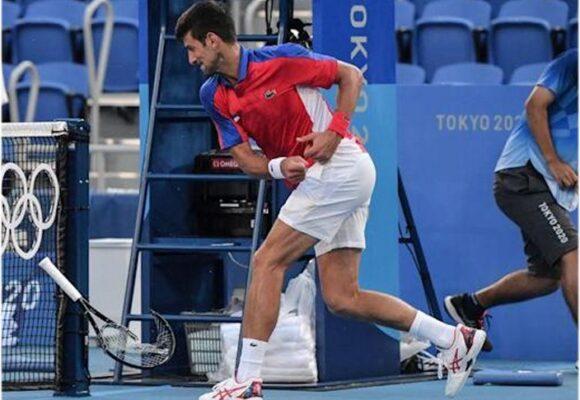 Djokovic, ¡pelea como niña!