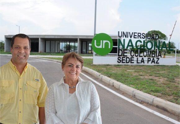La pelea entre la Universidad Nacional y el gobernador del Cesar por la sede de La Paz