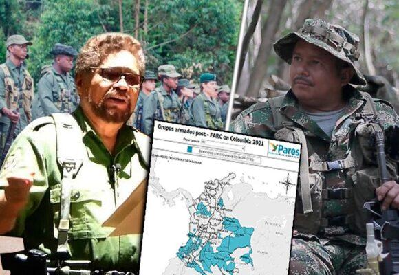 El mapa de poder de Gentil Duarte e Iván Márquez que los tiene en guerra