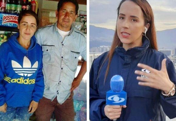 Érika Zapata, la reportera de Caracol, le regaló una casa a su papá quien es un humilde tendero