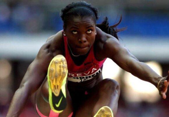 Caterine Ibarguen, lejos de su nivel, se queda sin nada en los Olímpicos