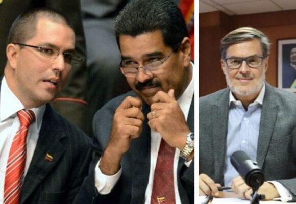 La mano derecha de Maduro sale de la Cancillería