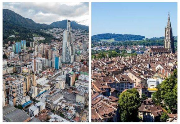Una y mil razones por las que Colombia no es Suiza