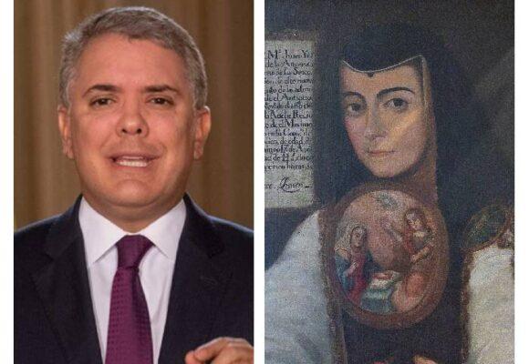 Iván Duque plagia a Sor Juana Inés de la Cruz