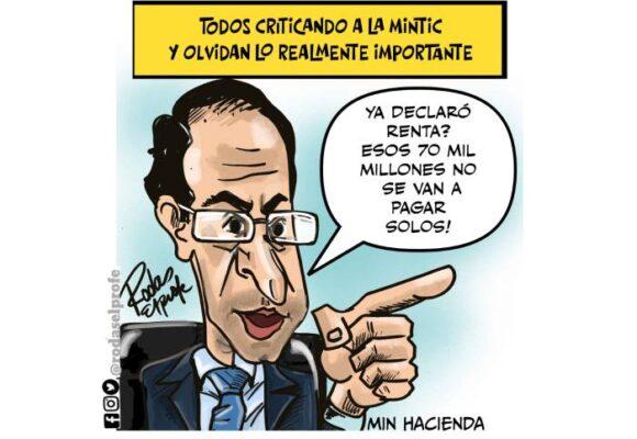 Caricatura: La reforma tributaria también es para eso